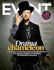 (UK) EVENT MAGAZINE AUGUST 2015 BOY GEORGE CULTURE CLUB PHOTO COVER BEN WHISHAW