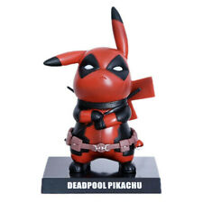 Deadpool Cosplay Detective Pikachu 6'' PVC Figure Statue Figurine Toys