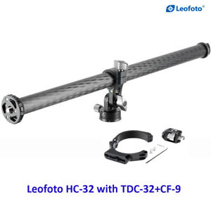 Leofoto HC-32 + TDC-32 +CF-9 Horizontal Panoramic Carbon Fiber Center Column