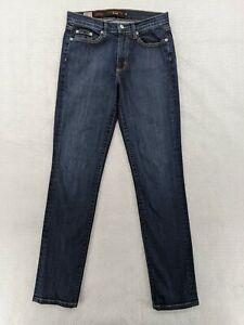 Fabrizio Gianni Blue Denim Stretch Skinny Jeans Size 4 (28 x 31) Made in USA