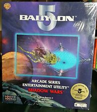 Babylon 5 Entertainment Utility Shadow Wars Pc Game - Sealed