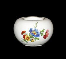 Porcelaine Bougie Chauffe-plat Bougeoir Kämmer Décor Floral 10x7cm 9988007