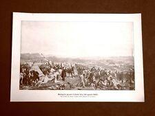 La battaglia di Isly 14 agosto 1844 Francia vs Marocco Quadro di Vernet