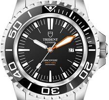 Trident 300 M - 990 ft (approx. 301.75 m) buzos profesionales de descubrimiento. 15 últimos relojes de izquierda