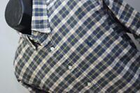 33780 Mens Polo Ralph Lauren Custom Long Sleeve Plaid Dress Shirt Size Large
