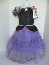 Girl's EVIL PRINCESS Deluxe Halloween Complete Costume Size Large 10/12