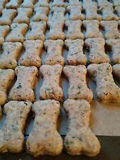 All Natural dog treats, Handmade, bone shaped, Pizza Bites (68 Cookies) per