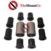 Rear Spring Eye Bush Kit Rubber Shackle Bushes To Suits Toyota Hilux 1991-2004