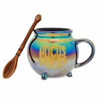 IN HAND Disney Hocus Pocus Iridescent Mug and Broom Spoon Set