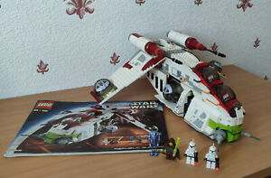 Lego Star Wars Republic Gunship 7163 - Incomplet