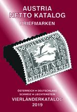 AUSTRIA NETTO KATALOGE - ANK Briefmarken Vierländerkatalog 2019
