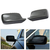Popular L+R Side Door Wing Mirror Cover Cap Fit for BMW 7 Series E65 E66 E67