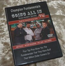 DVD GOING ALL IN Texas Holdem' Secrets Taught by Champions of the Game