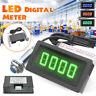 4 Digital LED Tachometer RPM Car Speed Meter + Hall NPN Proximity Switch Sensor