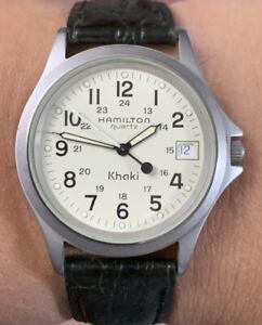 Hamilton Khaki Quartz 9445B 34mm Watch