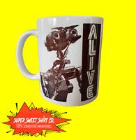 Johnny 5 Mug / Short Circuit Mug / Ceramic Handled Mug / Robot Mug / Robot Mug