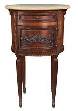 Table de chevet style Louis XVI acajou époque XIXème