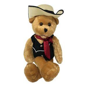 "Chantilly Lane Animated Musical Bear ""Hank"" Never Ending Love For You 19"" Plush"