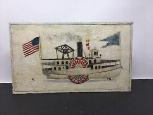 RICHARD E. HOWARD Remember - Pull Toys ? Cape Cod Listed Artist Folk Art