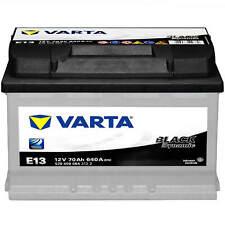 Autobatterie 12V 70Ah 640A Varta E13 Black Dynamic Starterbatterie 5704090643122