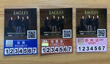 New listing Eagles Live In Beijing 2011 security Committee Vip Pass x 3 Beijing China