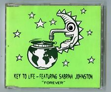 Key to life feat Sabrina Johnston CD-Maxi Forever © 1995 - 5-TRACK-CD Goa Trance