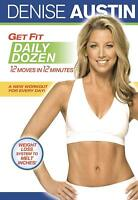 Denise Austin: Get Fit Daily Dozen DVD Brand New  (VG-AM20269DV / VG-149)