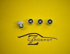 Datsun 240Z 260Z 280Z 280ZX 300ZX Valve Stem Caps Z Logo NEW 751
