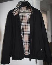 Burberry Mens Black Harrington Jacket