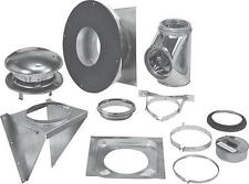 """SELKIRK 208622 8"""" INSULATED SURE-TEMP CHIMNEY PIPE THRU-THE-WALL  KIT 9518648"""