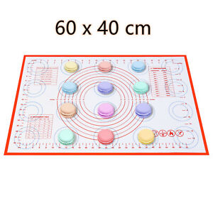NonStick Silicon Sheet Pizza Pastry Dough Fondant Rolling Pad Silicon Baking Mat