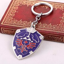 Anime The Legend of Zelda Hyrule Shield Metal Keyring / Keychain AU Stock