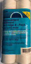 Sears - Replacement Sediment Water Filter Cartridges - 4-Pack - 42-34650 - New