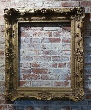 19th century Fabulous Gilt wood Frame with intricate carvings