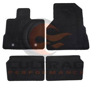 2010-2017 Equinox Terrain GM Front & Rear Carpet Floor Mats Black 22783017