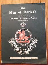 The Men of Harlech, Royal Regiment of Wales journal/magazine November 1976