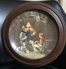 1990 The Old Scout Boy Scouts Knowles commerative Plate