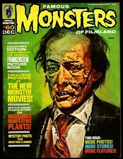 FAMOUS MONSTERS OF FILMLAND #60 FINE- (FRANKENSTEIN PICTURE BOOK)  WARREN