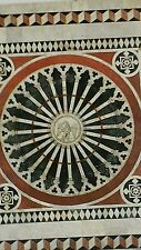 Marble Pavement Siena Cathedral Italy - 5 cards