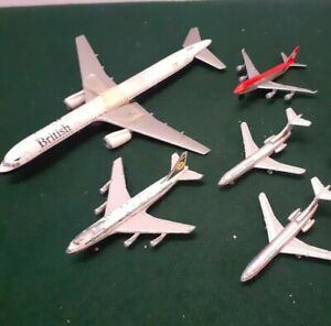 Diecast Commercial Airliner x 5 Other (Vintage) Job Lot