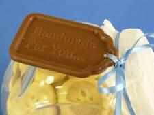 Grandi dimensioni Commestibile Cioccolato Regalo Etichette STAMPO PAN CANDY sapone resina cera di sciogliersi