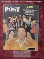 SATURDAY EVENING POST February 11 1967 JACKIE GLEASON VLADIMIR NABOKOV