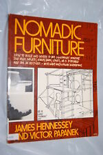 Nomadic Furniture by James Hennessey and Victor Papanek (1973, Paperback) 1st Ed