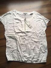 Comma Damen Bluse / Shirt, Größe 38, neu, weiß