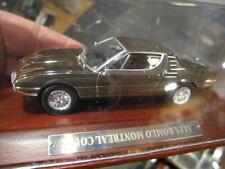 1:43 Ixo Alfa Romeo Montreal Coupe Chrome VP