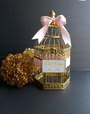 Wedding Wishing Well, Bridal Wishing Well, Color Choices, Bird Cage Card Holder