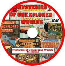 Mysteries of Unexplored World Comics on DVD 41 issues includes viewing software