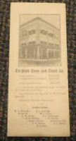 1914 Velasco Texas Quit Claim Deed - Tri-State Loan and Trust Fort Wayne Indiana