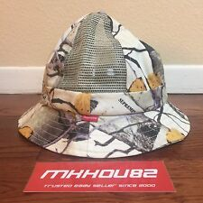 New Supreme Aspen Wood Bell Hat Crusher Bucket Cap Spring Summer 2014 Size S / M