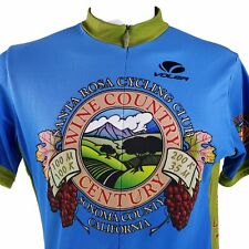 Voler Wine Country Century Santa Rosa Sonoma County Large Cycling Jersey